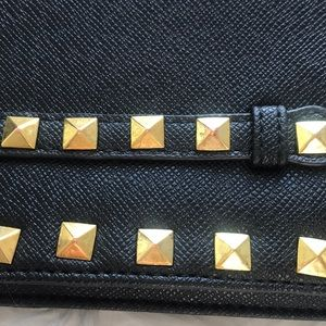 Bags - Leather Valentino style clutch